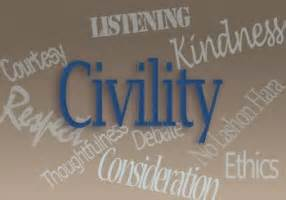 Civility is key in dealing with any Divorce, Child Custody Agreement, or Broken Family situation