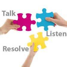Parenting plan agreeement dispute resolution - Talk, Listen, and Resolve